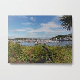 Tarbert Harbour Metal Print