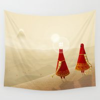 journey Wall Tapestries featuring Journey by Nostalgal! Comics Merchandise