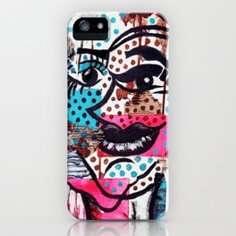 The Dynamic Expressions of Lucy  iPhone Case