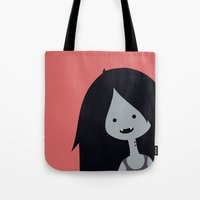marceline Tote Bags featuring Marceline by gaps81