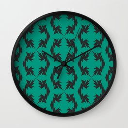 Electro : Flux Wall Clock