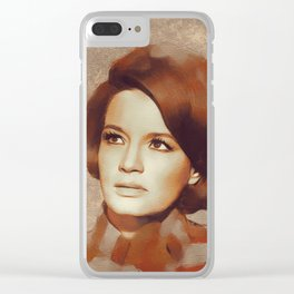 Angie Dickinson, Hollywood Legend Clear iPhone Case