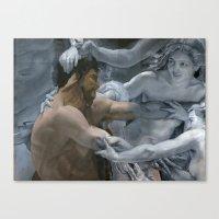 study Canvas Prints featuring Study by oracio