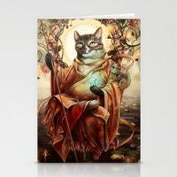 discount Stationery Cards featuring Jizo Bodhissatva by Christina Hess
