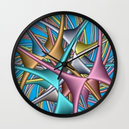 for curtains and more -c- Wall Clock