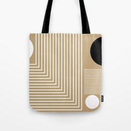 Lines & Circles Tote Bag