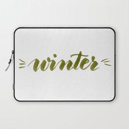 Winter - green Laptop Sleeve