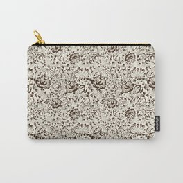 Floral seamless pattern in Gzhel style Carry-All Pouch