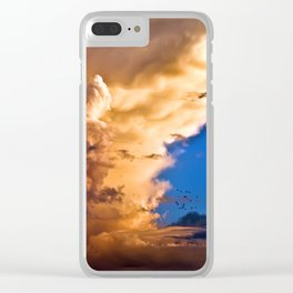 Sky Parts Clear iPhone Case