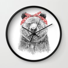 Break the rules (without text) Wall Clock