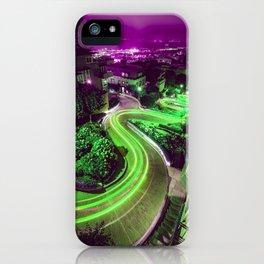 Green Lombard Street San Francisco iPhone Case