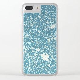 Snow design Clear iPhone Case