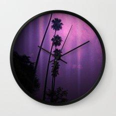 Purple Imagination Wall Clock