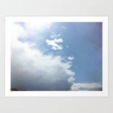 wispy cloud Art Print