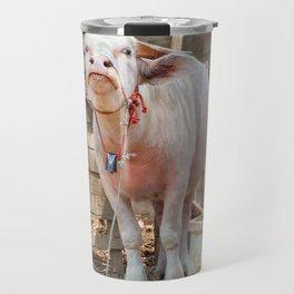 The Albino Buffalo Travel Mug