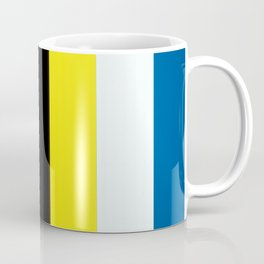 Ellsworth Kelly Red Yellow Blue White and Black Coffee Mug