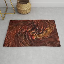 Mixing Copper Metallic Rug