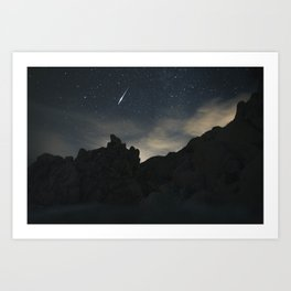Joshua Tree Night Sky Art Print