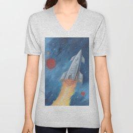 Rocket Fire Unisex V-Neck