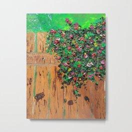 Flowers in garden Metal Print