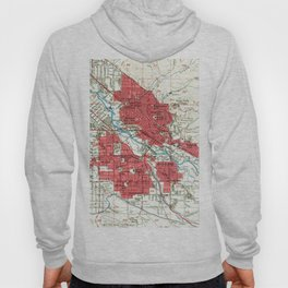 Vintage Map of Boise Idaho (1954) Hoody