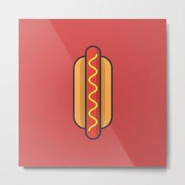Hotdog Metal Print