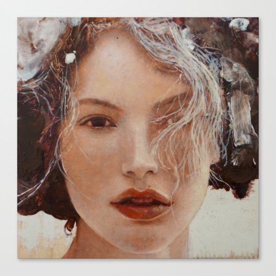 Face10 Canvas Print