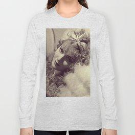 Anna Sten, Vintage Actress Long Sleeve T-shirt