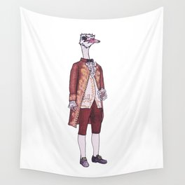Mister Ostrich Wall Tapestry