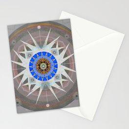 Third Eye Blinking Meditation Sacred Geometry Tapestry Print Stationery Cards