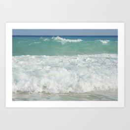 Carribean sea 9 Art Print