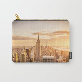 New York City- Empire State Building at sunset Carry-All Pouch