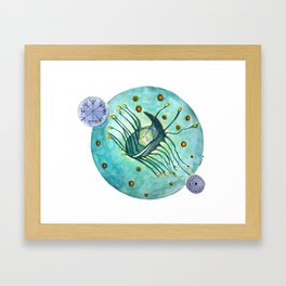 Journey With Your Inner Being Framed Art Print