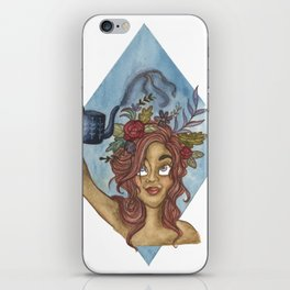 Let Your Imagination Grow iPhone Skin