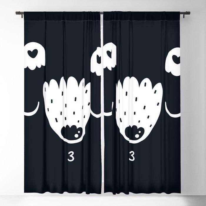 animal Blackout Curtain
