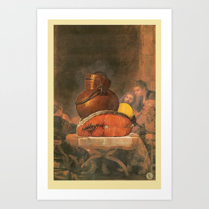 Pffft, JC steady clownin Art Print