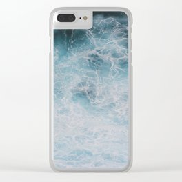 Bali Surf Clear iPhone Case