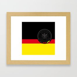 GERMAN Football Association Framed Art Print