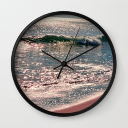Sparkle Morning Sea Wall Clock
