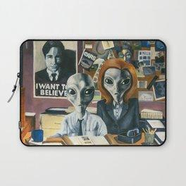 X-Files - Agent Grey Laptop Sleeve