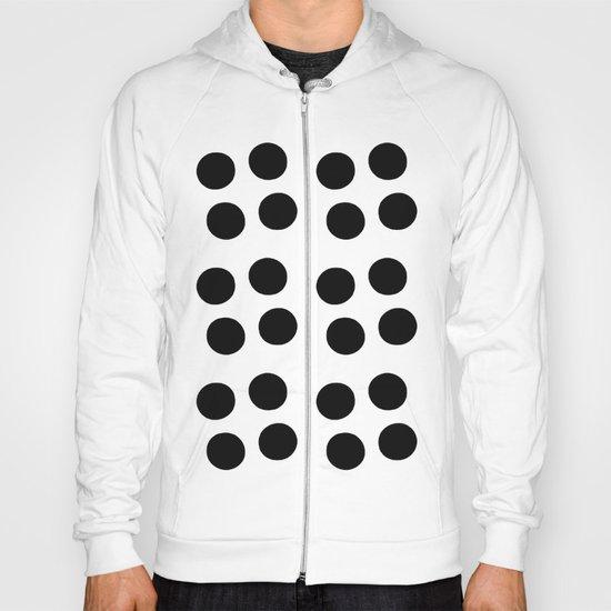 Copijn Black & White Dots Hoody