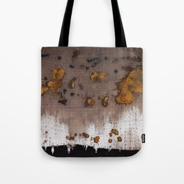 Expresso Head and the Coffee Clouds Tote Bag