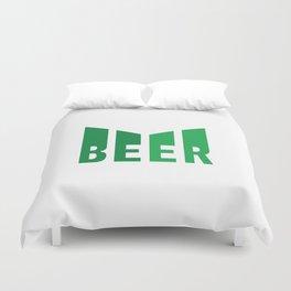 Beer lovers design  #society6 #decor #buyart #artprint Duvet Cover