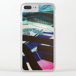 widow to the surf 101 Clear iPhone Case