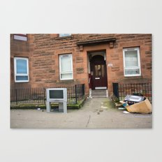 Surface Tension: 1541 Dumbarton Road Canvas Print