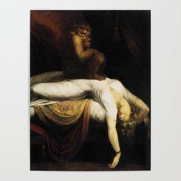 Henry Fuseli The Nightmare Poster