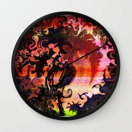 Swirled Tree Wall Clock