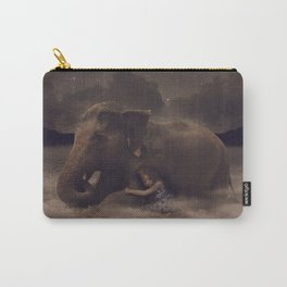 Having a Soft Heart In a Cruel World II Carry-All Pouch