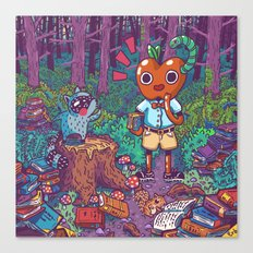 Forest Library Canvas Print