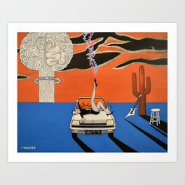 as a courtesy to a client Art Print